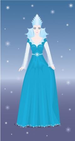 snow queen: The Snow Queen