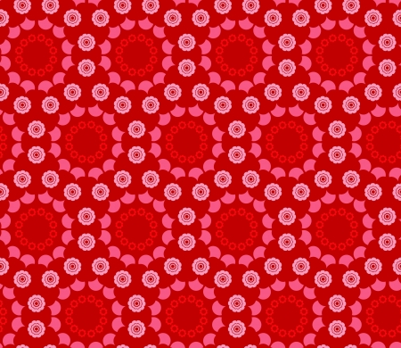 background with seamless floral pattern Stock Vector - 19600997