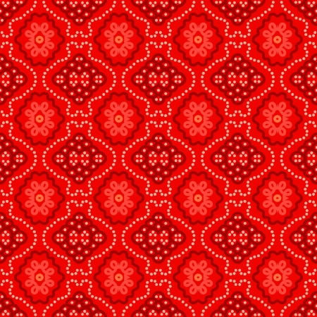 background with seamless geometric pattern in ethnic style Illustration