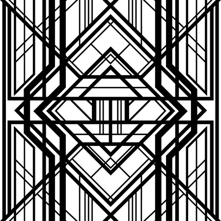 abstract geometric pattern, interwoven with volumetric grid lines, a background in art deco style