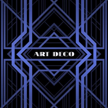motif geometriques: art d�co grille m�tallique r�sum�, motif g�om�trique dans le style art d�co