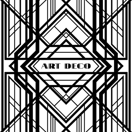 art deco grille, metallic abstract, geometric pattern in the art deco style