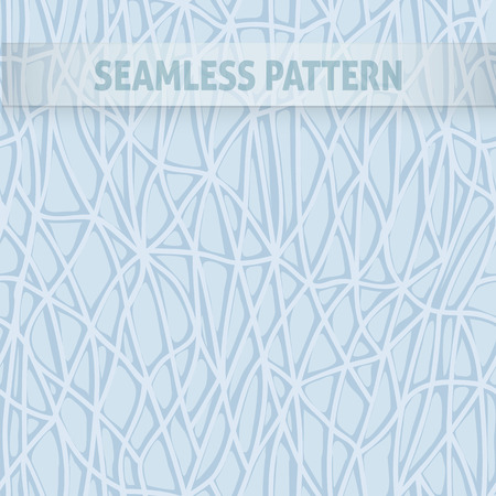cowhide: seamless pattern with intertwining lines forming pattern, similar to a web of blue Illustration