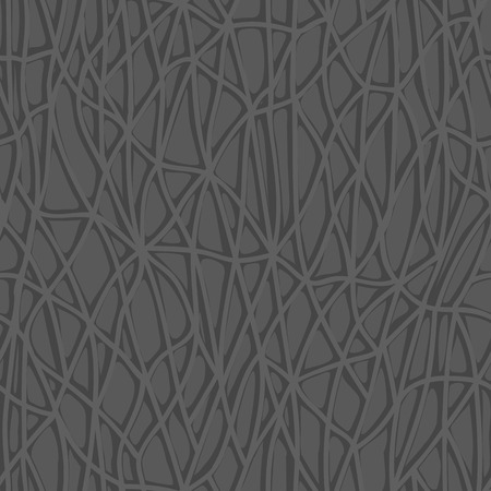 seamless interlacing pattern of lines forming a pattern similar to skin gray  イラスト・ベクター素材