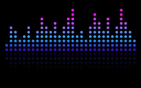 illustration of sound waveform illustration