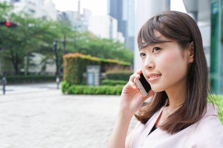 woman phone calling 免版税图像