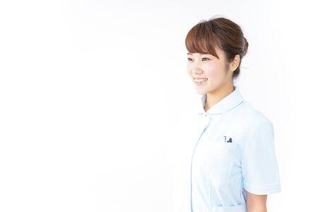 Nurse with smile