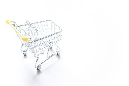 shopping cart Stockfoto