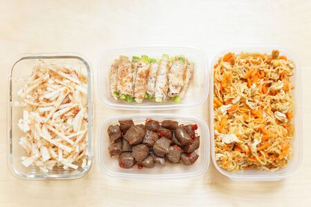 Meal prep for lunch box