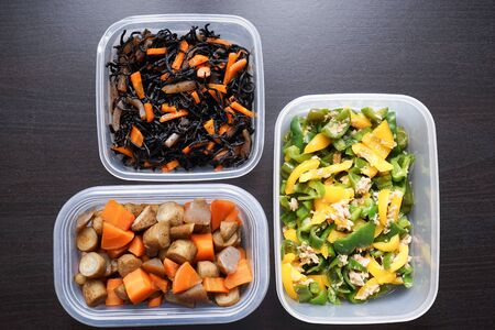 Meal prep for lunch box Imagens