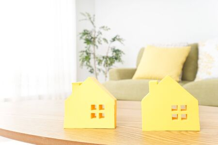 house hunting image Standard-Bild - 130732891