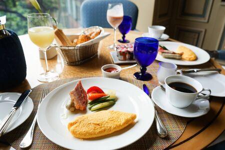 breakfast time image
