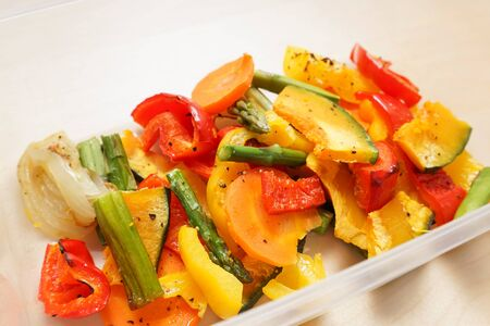 colorful vegetable meal