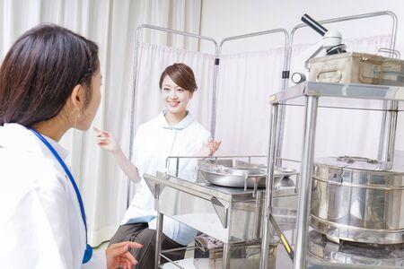 team medical care Stock Photo