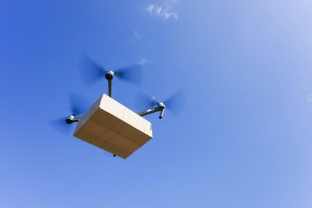 Drone for air delivery