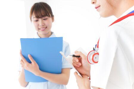 Nurses meeting image