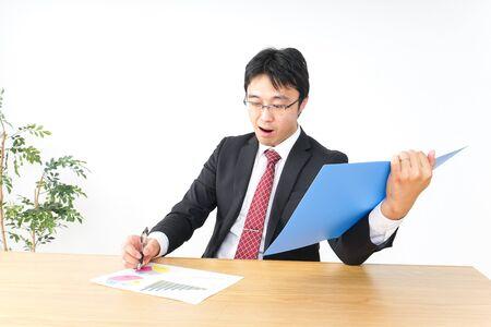 account settlement and audit image Standard-Bild