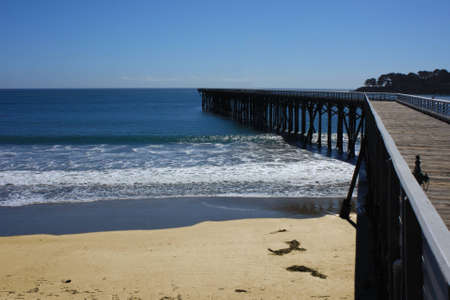 lonliness: Pier at Pacific