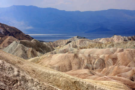Zabriskie Point at Death Valley National Park, California, USA photo