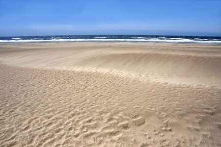 Beach at the west coast of the USA photo