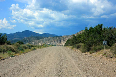 A very rough road into nature photo