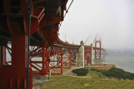 From under the bridge with tilt shift lens effect Stock Photo - 12231175
