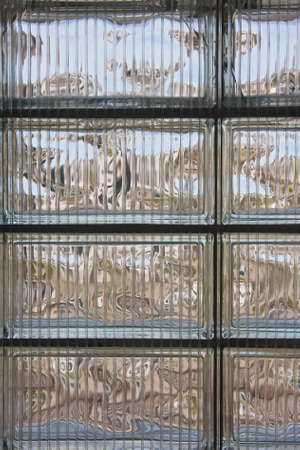 light transmission: Glass brick wall