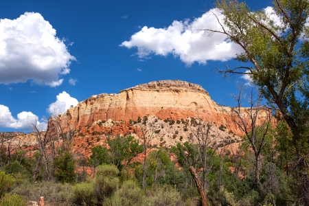 Colorful landscape and scenery in New Mexico near Ghost Ranch photo