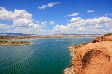 Amazing Lake Abiquiu in New Mexico photo