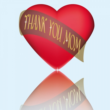 Illustration suitable as a thank you and commemorate Mother Stock Vector - 19082999
