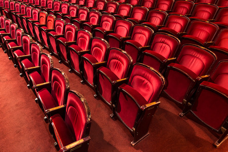 an old theater auditorium photo