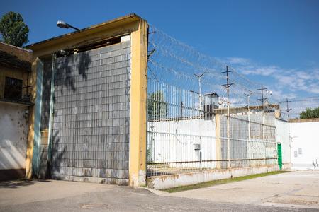 jail: gate in jail
