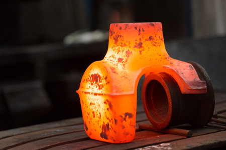 a glowing iron product on the scheme