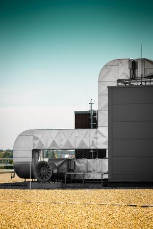 Ventilatieopening van een airconditioningsysteem Stockfoto