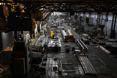 iron workshop Standard-Bild
