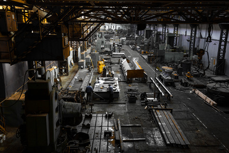 blastfurnace: iron workshop Stock Photo