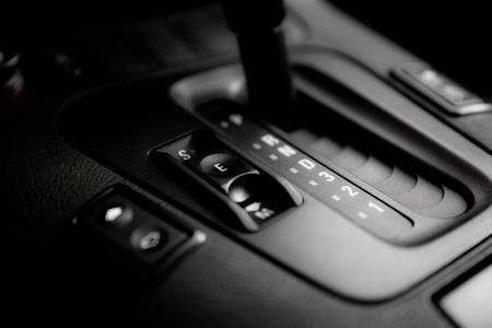 Closeup photo of car interiors photo