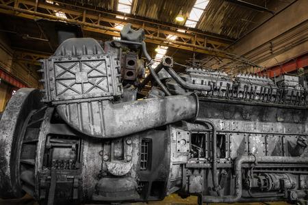 inoperative: diesel train engine