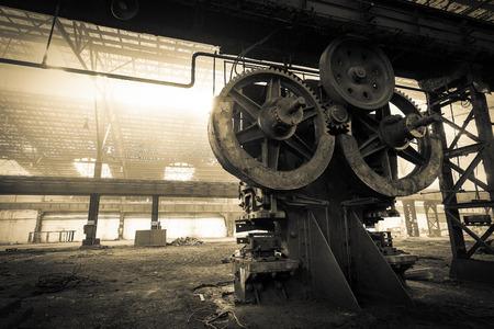 冶金会社は解体を待っています。