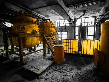 Industrial interior photo