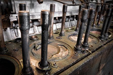 diesel train engine photo