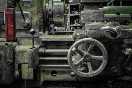 old industrial tool photo