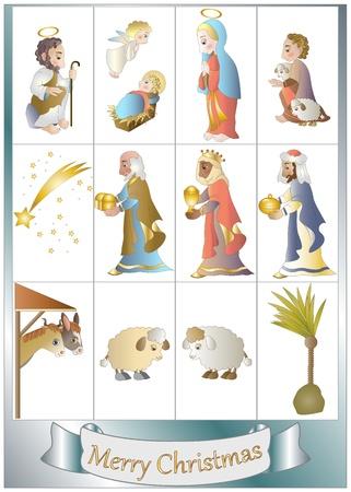 rois mages: d�finir des �l�ments de cr�che