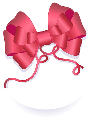 Christmas Red Ribbon 1