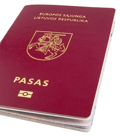 biometric: New Lithuanian Passport of biometric personal data