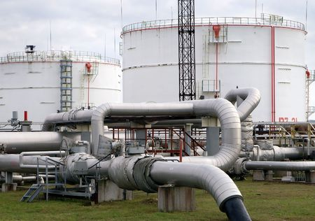 Industrial Fuel Storage at oil refinery