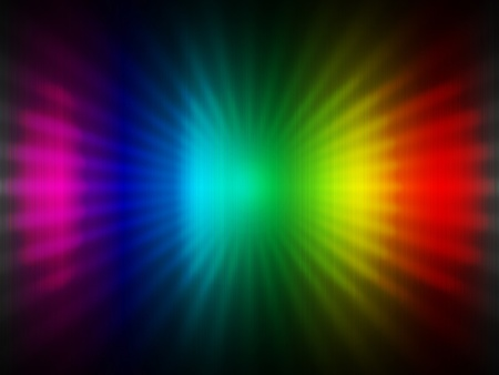 Color ray abstract background Stock Photo - 8969856