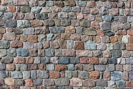 fortify: High definition stone wall background of natural stones