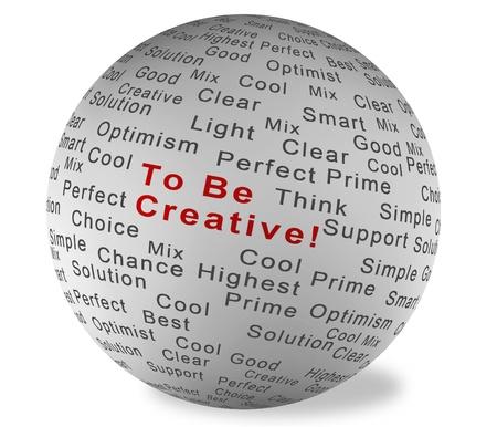 Illustration ball with inscription Good Idea Stock Illustration - 9980088
