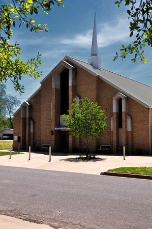 Small church in a small East Texas town